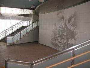 九州新幹線の新大牟田駅のガラスフィルム03